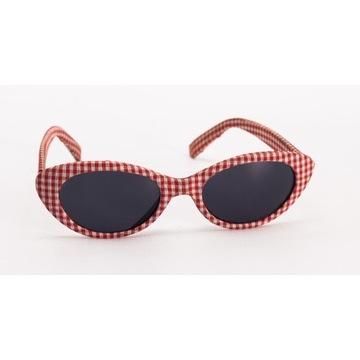 Okulary plażowe damskie przeciwsłoneczne