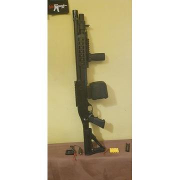 Strzelba ASG CM.366M z magazynkiem Battleaxe