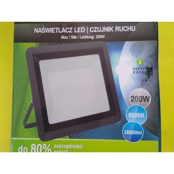 Halogen, Reflektor LED 200 watt 6000k 1800 lm IP65
