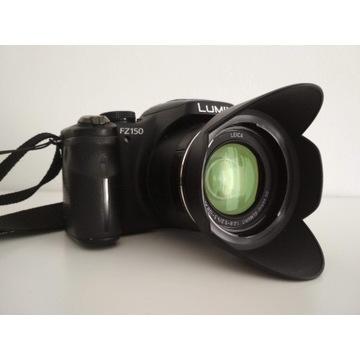 Panasonic Lumix DMC-FZ150 cyfrowy kompakt 25-600mm