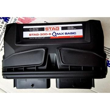 NOWY Komputer sterownik AC STAG 300-8 QMAX Basic 8