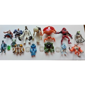 Ben 10 Figurki Kolekcjonerskie Unikaty