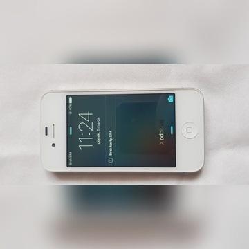 Apple iPhone 4S 16 GB srebrny