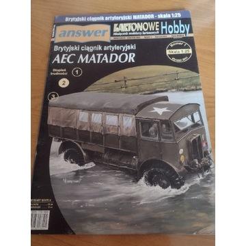 Model kartonowy Answer AEC Matador