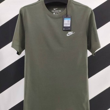 Nike TEE t-shirt klasyka khaki rozmiar M