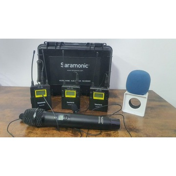 MEGAZESTAW REPORTERSKI - 3 mikrofony! Plus gratis!