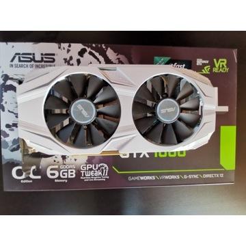 GeForce GTX 1060 Dual OC 6GB - DO GIER! JAK NOWA!