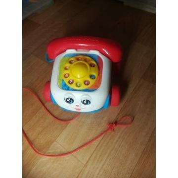Telefon zabawa Fisher price na sznurku