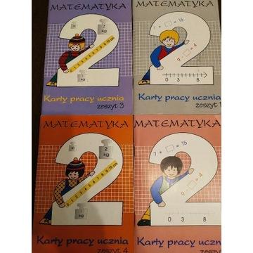 UNIKAT Karty pracy ucznia matematyka 2