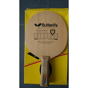 Butterfly Jonyer Hinoki czarny motyl