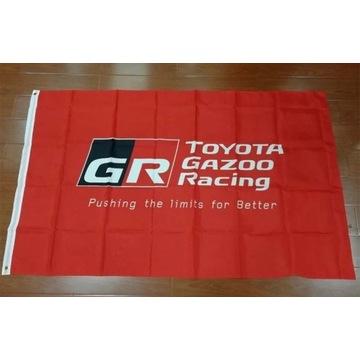 Flaga TOYOTA GAZOO RACING, GR, GR SPORT