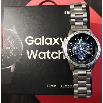 Samsung Galaxy Watch LTE 46mm srebrny eSIM + paski