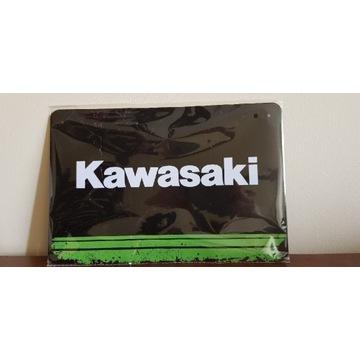 Metalowy szyld KAWASAKI 20cm/30cm / motocykl