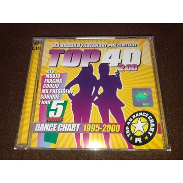 TOP 40 DANCE CHART VOL 5 1995-2000