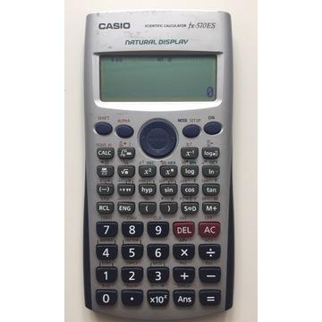 Kalkulator naukowy CASIO FX-570ES stan db