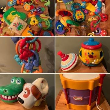Zabawki 0-3 mega zestaw Fisher Price Chicco Sassy
