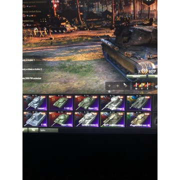 World of tanks dużo premek!