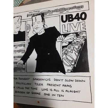 Płyty winylowe   UB40   LIVE    1983