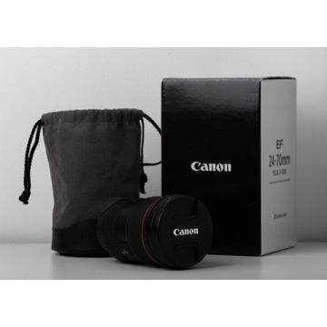 Obiektyw Canon EF 24-70 mm f/2.8 L II USM *okazja*