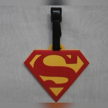 Zawieszka Superman logo na walizke orginal