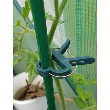 Klipsy  spinacze do roślin 20sztuk ochrona ROŚLIN