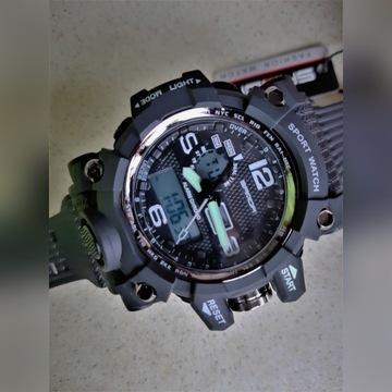 Zegarek Sanda G style 742 - sportowy, wojskowy