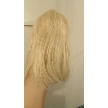 Peruka blond lace front naturalna