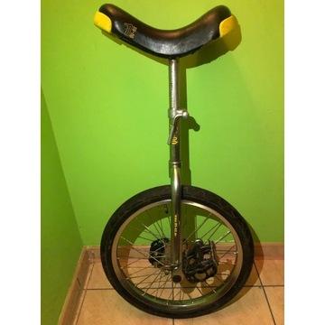 """Rower jednokołowy monocykl QU-AX SPORT 18"""" CHROM"""