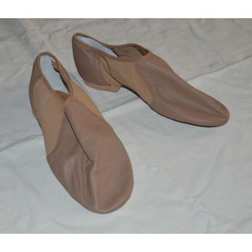 jazzówki BLOCH buty do tańca cieliste NOWE