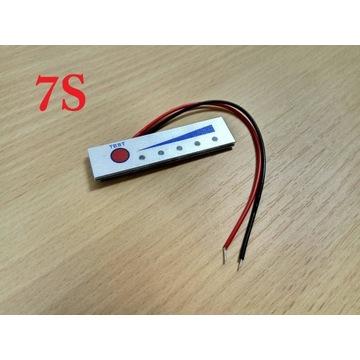 7S Wskaźnik naładowania akumulatora Li-Ion 29,4V