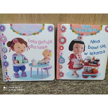 """""""Mała dziewczynka"""" Lola gotuje, Nina bawi się"""