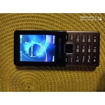 Telefon Manta AVO 2,klawisze, Dual Sim dla seniora