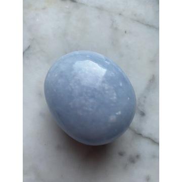 celestyn kryształ szlifowany palm stone 5,5cm