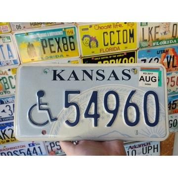 Tablica rejestracyjna USA Kansas