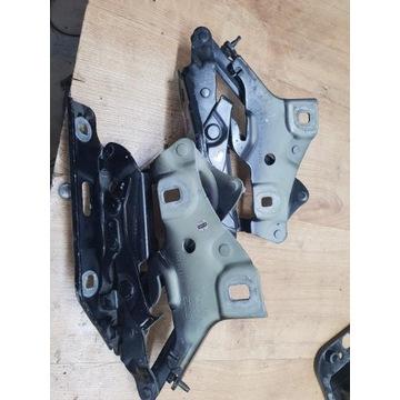 Zawiasy maski przód Audi a4 b9