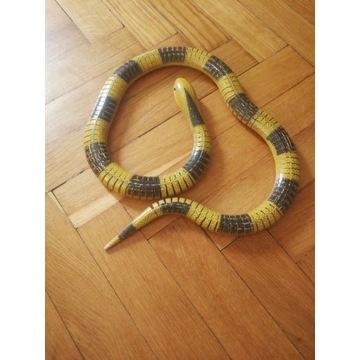 Zabawka wąż drewniana ok 1m długości