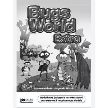 Nauka angielskiego +3 lata - Bugs World extra