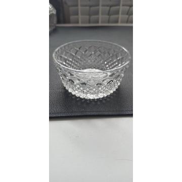 Kryształowa cukiernica szklana