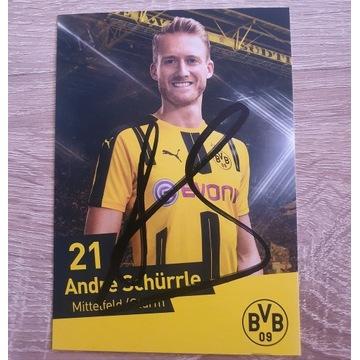 Autograf Andre Schürrle - Borussia Dortmund