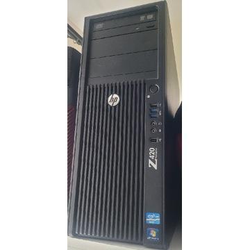 Stacja HP Z420 z płytą główną FMB-1101 + zasilacz
