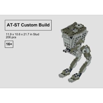 Lego AT-ST - instrukcja