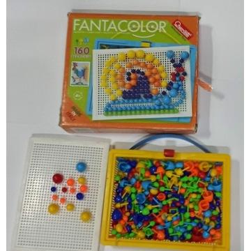 układanka obrazkowa mozaika typu puzzle pinezki