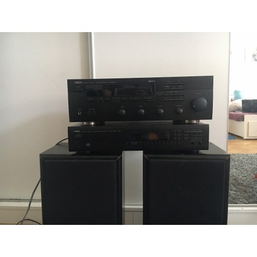 yamaha zestaw stereo+głosniki
