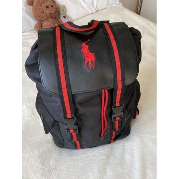 Plecak czarny Ralph Lauren nowa kolekcja
