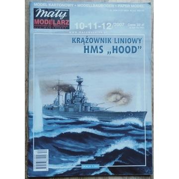 Krążownik Liniowy HMS Hood MM 2007/10-12