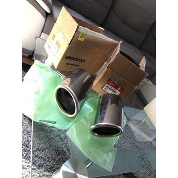 Honda końcówka wydechu nakładka tłumik CRV ORYGINA