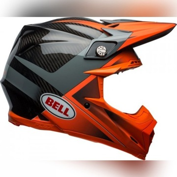 KASK BELL MOTO-9 FLEX HOUND size S ORANGE/CHARCOAL