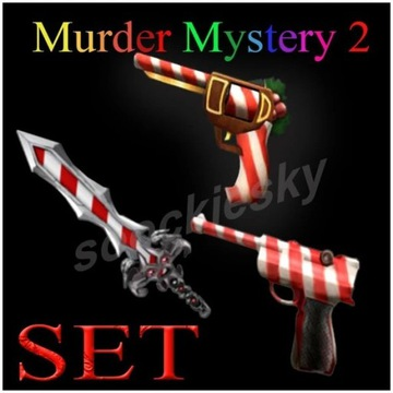 ROBLOX Murder Mystery 2 Candy SET