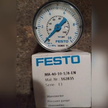 Manometr FESTO MA-40-10-1/8-EN