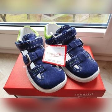 Pół Buty sandały superfit NOWE rozmiar 23 15cm